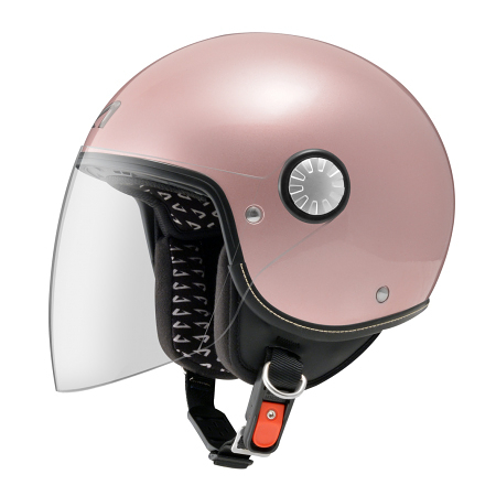 【東門城】ASTONE AJ 素色(玫瑰金) 半罩式安全帽 小帽體