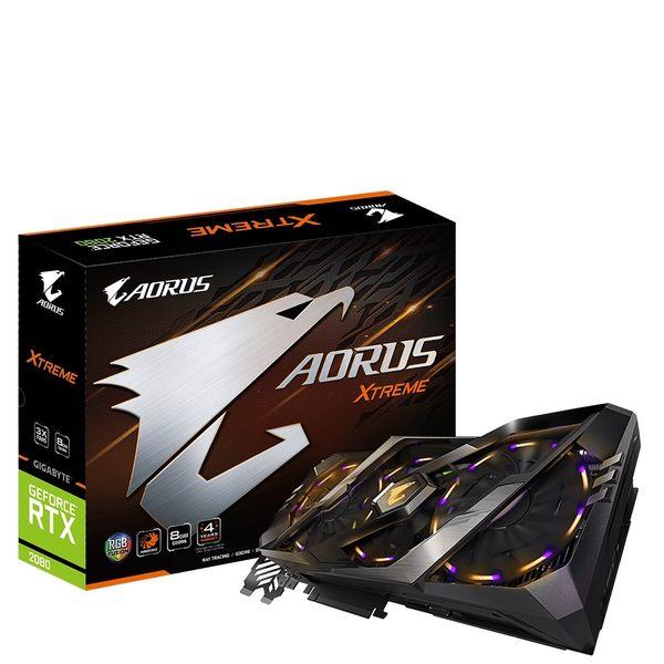技嘉 AORUS GeForce RTX 2080 Xtreme 8G (GV-N2080AORUS X-8GC)【刷卡含稅價】