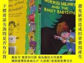 二手書博民逛書店Horrid罕見Henry And The Bogey Babysitter :可怕的亨利和那個可怕的保姆Y2