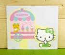 【震撼精品百貨】Hello Kitty 凱蒂貓~卡片-餐車(M)