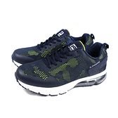 G.P (GOLD PIGEON) 阿亮代言 運動鞋 氣墊型 深藍色 男鞋 P6927M-26 no441