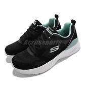 Skechers 休閒鞋 Skech-Air Dynamight Carefree Way 女鞋 黑 綠 運動鞋【ACS】 149663-BKMN