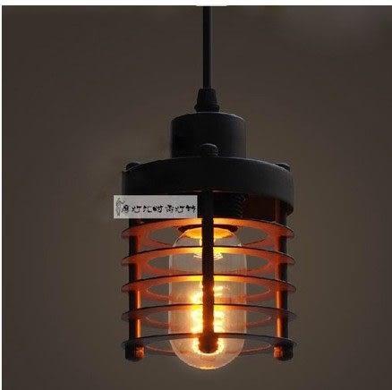 設計師美術精品館RH Loft2 鐵鏽工業圈吊燈餐廳吧台陽台工業複古美式鄉村倉庫吊燈