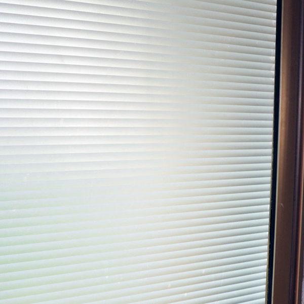 磨砂仿百葉玻璃貼膜衛生間浴室窗戶貼紙辦公室透光不透明防曬窗貼 七夕節禮物滿千89折下殺