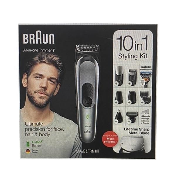 [9美國直購] Braun 德國百靈 10合一 男士電動修容組 MGK7221 Beard Trimmer & Body Grooming Kit_tc1