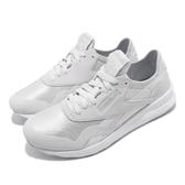 Reebok 休閒慢跑鞋 CL Nylon SP 白 灰 輕量鞋面 運動鞋 女鞋【PUMP306】 CN7751