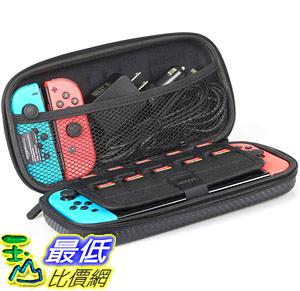 [8美國直購] 便攜包 AmazonBasics Carrying Case for Nintendo Switch and Accessories - 10 x 2 x 5 Inches, BlacK