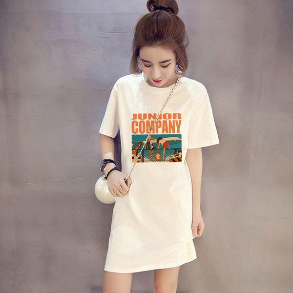 韓系印花T恤