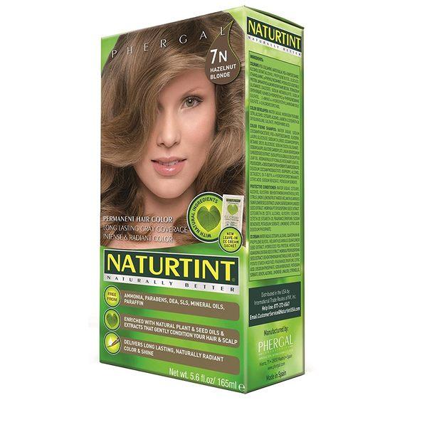 【NATURTINT 赫本染髮劑】7N亞麻淺棕色 (155ml/盒)