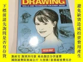 二手書博民逛書店the罕見essentials of drawing (英文原版