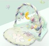 嬰兒健身架寶寶腳踏鋼琴音樂健身架器新生幼兒嬰兒玩具男女孩益智0-3個月1歲 JD 618狂歡