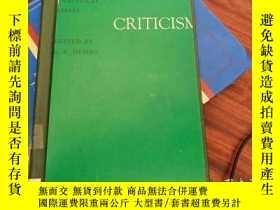 二手書博民逛書店Criticism,罕見Speculative and Anal