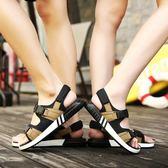 涼鞋-男孩涼鞋新款10韓版青少年12夏季輕便13初中學生大童男童15歲 伊蒂斯女装
