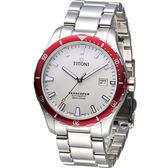TITONI SEASCOPER系列 潮流潛水機械錶-83985SRB-516