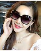 新款太陽鏡女潮圓臉長臉明星款 墨鏡女方臉韓版前衛優雅個性    初語生活