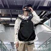 書包校園男時尚潮流個性街頭韓版雙肩背包旅行大容量防水 米希美衣