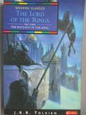 【書寶二手書T1/原文小說_MJJ】The Lord of the Rings-Return of the King v.3_J. R. R. Tolkien
