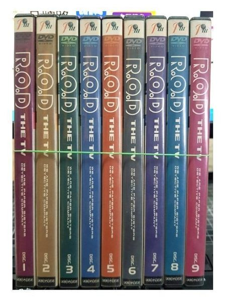 影音專賣店-B02-048-正版DVD-動畫【超能ROD 01-09 全集】-套裝 日語發音