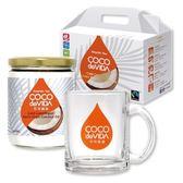 【官方直售】可可威達冷離心初榨椰子油防彈咖啡杯禮盒(443ml)