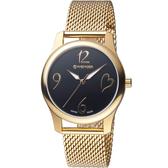 瑞士WENGER City 城市系列 愛戀之心米蘭帶時尚腕錶 01.1421.110