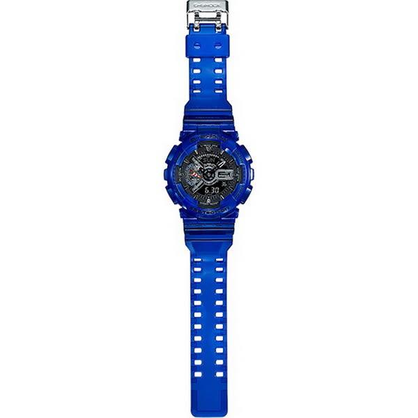 【台南 時代鐘錶 CASIO】卡西歐 G-SHOCK 宏崑公司貨 GA-110CR-2A 海洋生態保育概念雙顯錶款