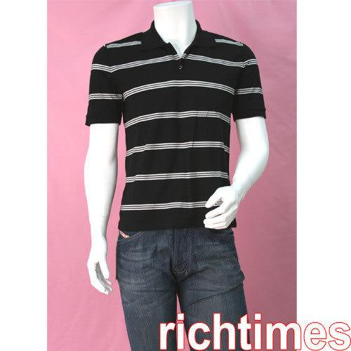 agnes b. 黑白橫紋上衣AB399301