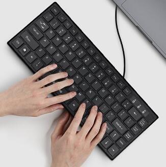 小鍵盤 筆記本外接巧克力小鍵盤有線無線電腦靜音無聲【快速出貨八折搶購】