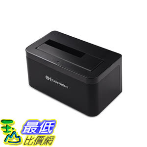 [美國直購] Cable 202019 Matters USB 3.0 SATA Hard Drive Docking Station - Supports up to 6TB Drives 硬碟擴展..