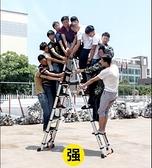 巴芬伸縮梯子人字梯家用鋁合金加厚折疊梯便攜多功能升降工程樓梯MBS『潮流世家』