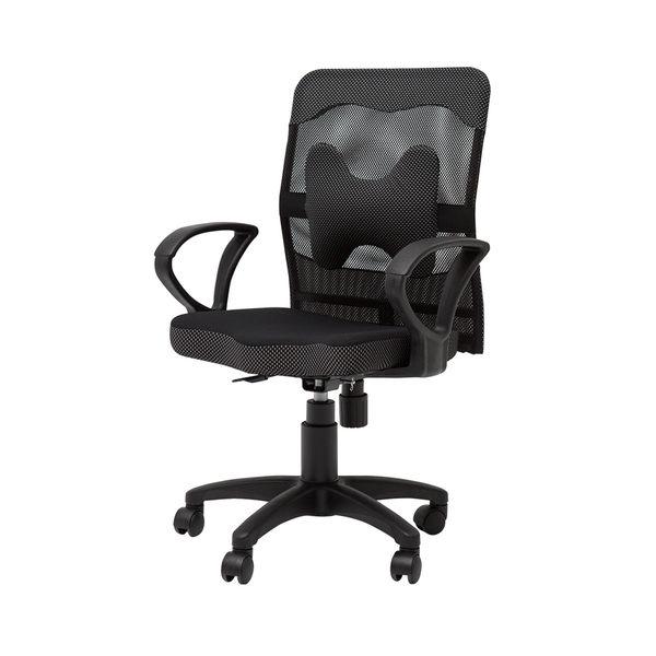 椅子 電腦椅   書桌椅 【I0049】厚座高靠背網辦公椅(附腰墊) MIT台灣製完美主義