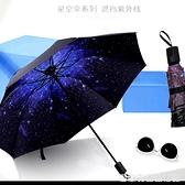 雨傘摺疊小清新防曬紫外線遮陽傘女晴雨兩用學生s太陽傘便攜批發 居家物语