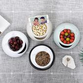 雙層瓜子盤客廳塑料懶人嗑瓜子神器干果盒家用水果盤糖果盒【端午節免運限時八折】