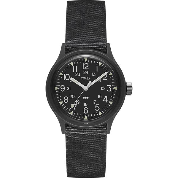 【TIMEX】天美時 MK1 輕量潮流軍錶(黑 TXTW2R13800)