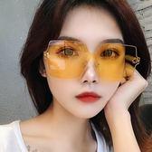 太陽眼鏡女大方框圓臉街拍防紫外線