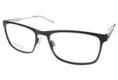 BOSS ORANGE 光學眼鏡 BR0231 92K (霧黑) 都會金屬潮流款 # 金橘眼鏡