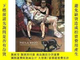 二手書博民逛書店保拉·雷戈作品集罕見英文原版 Paula Rego: Obedience and Defiance 表現主義 超現