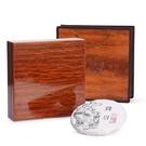 高檔木盒普洱茶包裝盒空禮盒通用357克茶餅福鼎白茶包裝空盒訂製