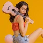 尤克里里初學者23寸26女男入門學生兒童小吉他LX春季新品