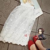 內搭襯裙 新款 韓版百搭單品外穿時尚短裙蕾絲打底半身裙女 2色 交換禮物