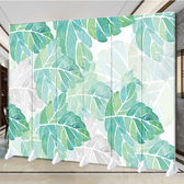 屏風 北歐屏風隔斷客廳簡約現代移動裝飾墻簡易辦公室臥室折疊雙面折屏