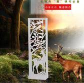 簡約現代時尚屏風 創意隔斷裝飾柜簡易客廳房間雙面移動門廳玄關柜  提拉米蘇