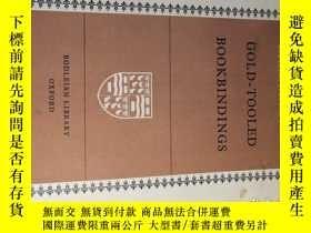 二手書博民逛書店1951年罕見GOLD-TOOLED BOOKBINDINGS
