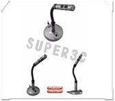 新竹【超人3C】 INTOPIC 廣鼎 桌上型 蛇管 抗噪 JAZZ-012 全指向 麥克風 感應度靈敏 開關