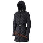 Wildland 荒野 0A32101-54黑色 女 輕四層700FP中長羽絨衣