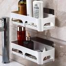 衛生間置物架壁掛吸盤浴室置物架洗手臺收納架子洗手間廁所置物架 QQ2738『MG大尺碼』