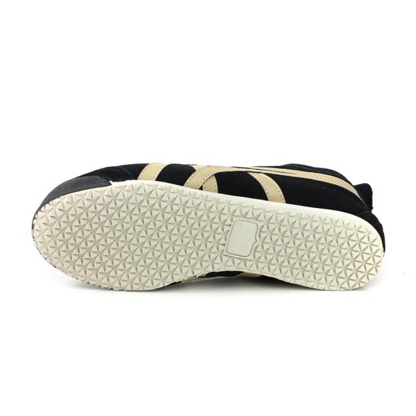 Onitsuka Tiger MEXICO 66 SLIP-ON 運動鞋 休閒鞋 內鋪毛 黑色 男女鞋 1183A438-001 no308
