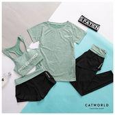 Catworld 雪花彩紋。上衣款運動套裝四件組【16600361】‧S-XL