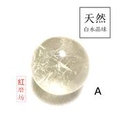 【紅磨坊】天然白水晶球4CM 天然瑩透白水晶球4CM一顆(加持祈福) NO.4W