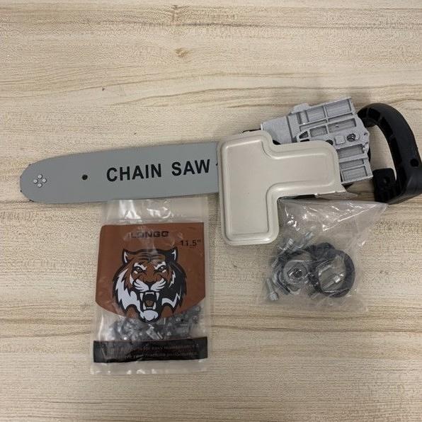 角磨機磨光機改電鏈鋸多功能小型轉電鋸萬用伐木鋸(33公分/777-9019)