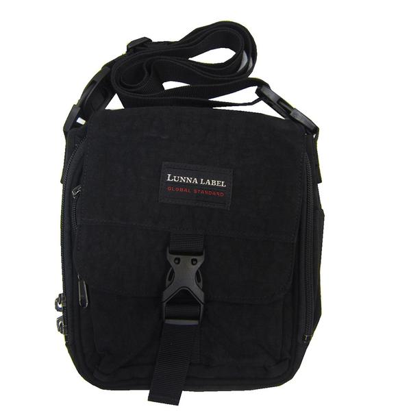 ~雪黛屋~YESON 斜背包超小容量主袋+外袋共四層高單數防水尼龍布主袋內多層插筆外袋台灣製造Y323